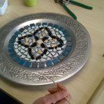 Creatief kunst mozaïek workshop inloopatelier open atelier Purmerend Noord-Holland individueel