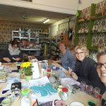 Creatieve kunst workshop vriendinnen familie mozaïek Noord-Holland