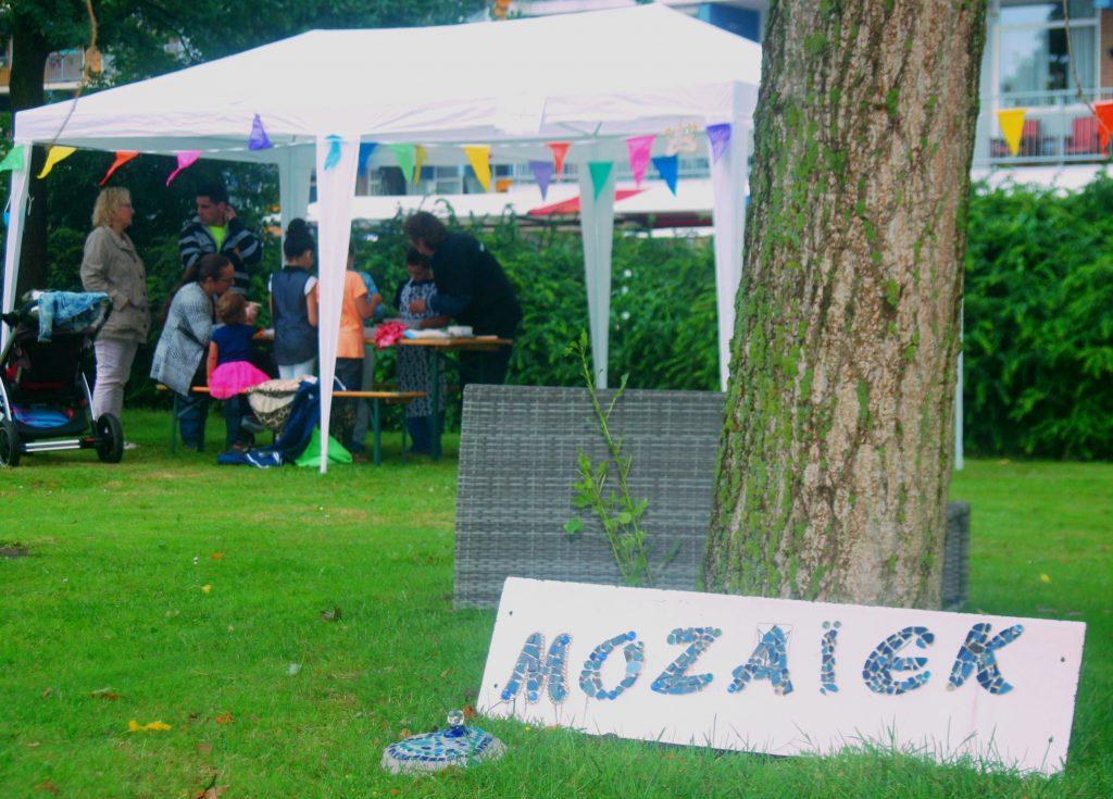 Link naar foto-album eVe Mozaïek Wheermolen markt Purmerend