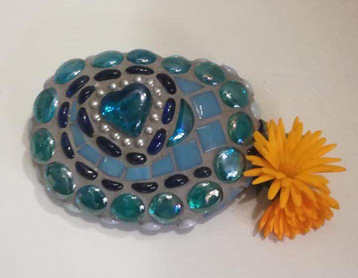 Tuinpareltje Blauw Hart