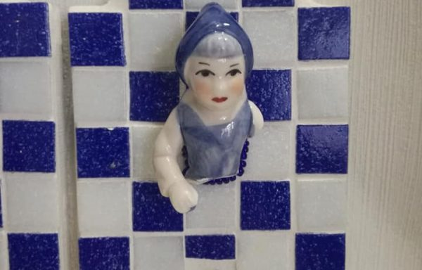 Jashaak Delfts Blauw Vrouw