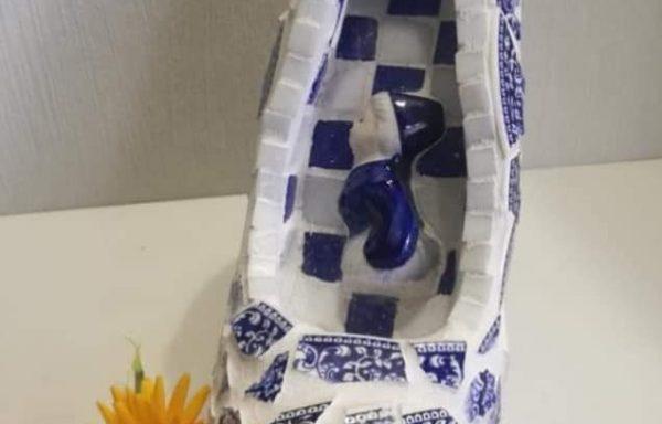 Pump Delfts Blauw